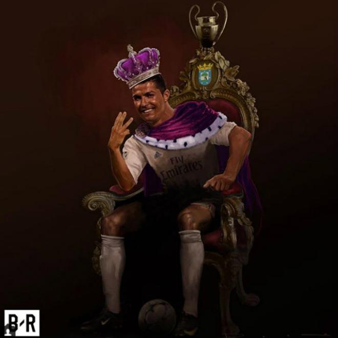 Ronaldo lập poker, cán mốc 50 hat-trick: Nhà vua vĩ đại, hùng bá châu Âu - 4