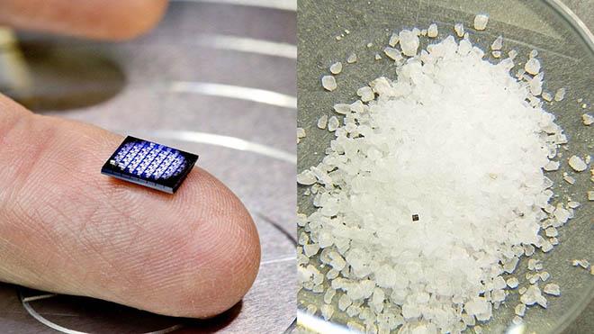 Chiếc máy tính siêu nhỏ, nhỏ hơn cả hạt muối - 1