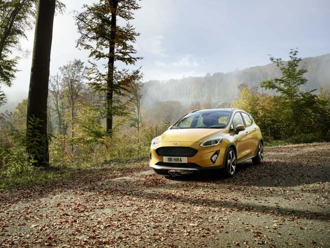 Ford tiết lộ ảnh Fiesta Active - Giá bán khởi điểm từ 390 triệu đồng - 1