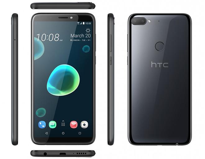 HTC Desire 12 và Desire 12+ ra mắt với màn hình lớn, giá cực hấp dẫn - 1