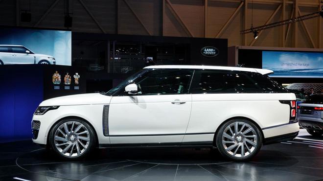 RangeRover sẽ sản xuất SUV siêu sang mui trần? - 5
