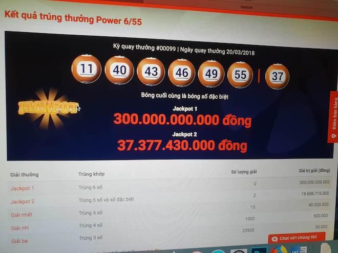 Nóng 24h qua: Vì sao hai tỉ phú Vietlott hụt jackpot 300 tỉ đồng?
