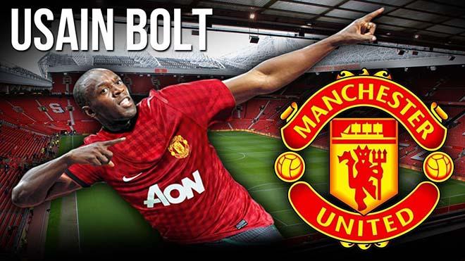 """""""Tia chớp"""" U.Bolt: Đá bóng cấp """"làng"""", Mourinho sao dám nhận về MU 1"""