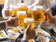 Tin tức sức khỏe - Học người Nhật cách uống rượu bia không lo viêm đại tràng