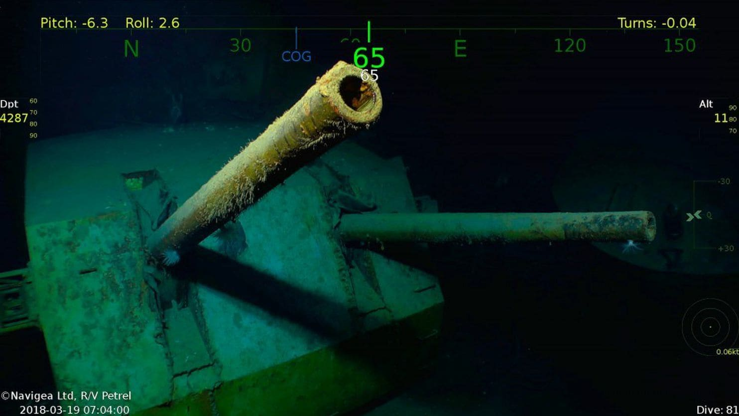 Tìm thấy chiến hạm bị chôn vùi cùng 5 anh em anh hùng nước Mỹ