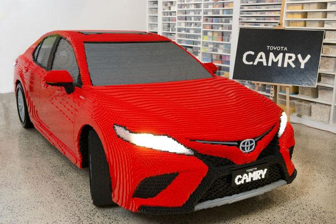Chiêm ngưỡng mô hình Lego Toyota Camry - 1