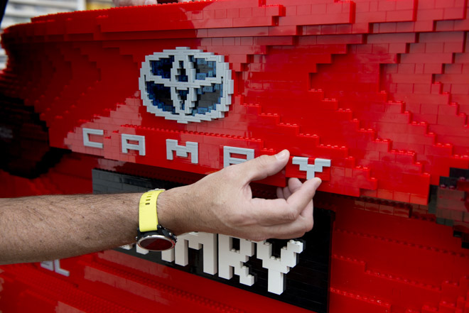 Chiêm ngưỡng mô hình Lego Toyota Camry - 6