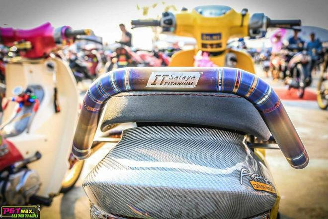 Ngắm Honda Dream độ màu vàng quý tộc rực rỡ - 7