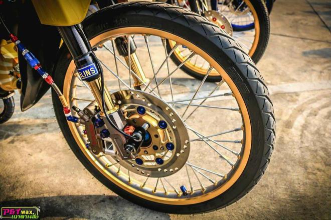 Ngắm Honda Dream độ màu vàng quý tộc rực rỡ - 6