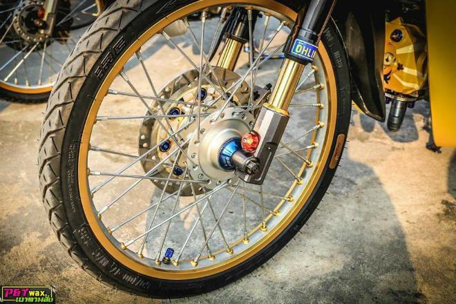 Ngắm Honda Dream độ màu vàng quý tộc rực rỡ - 11