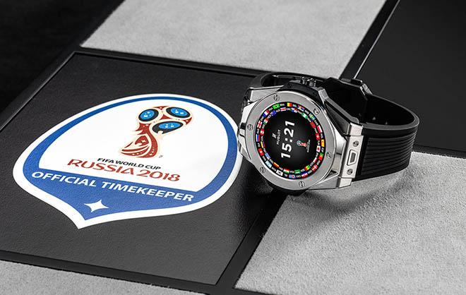 Đồng hồ trọng tài bắt FIFA World Cup 2018 có gì đặc biệt?