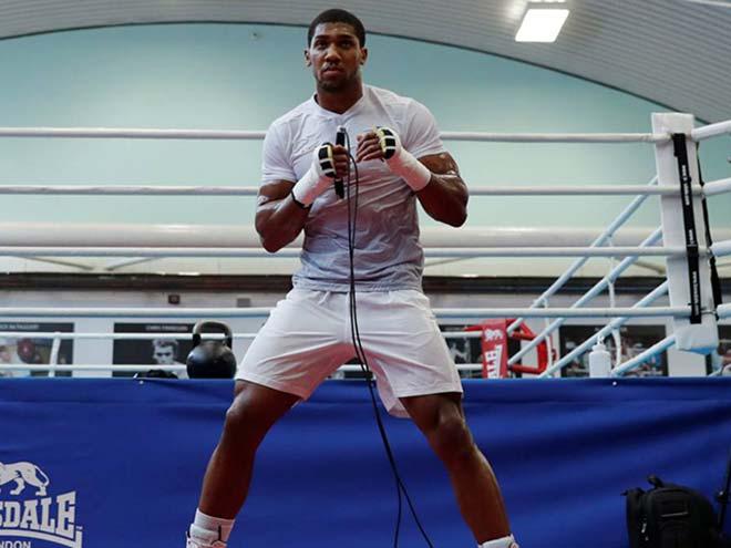 """""""Quyền vương"""" Joshua bỏ boxing: Về UFC nhận 400 triệu euro, vượt McGregor"""