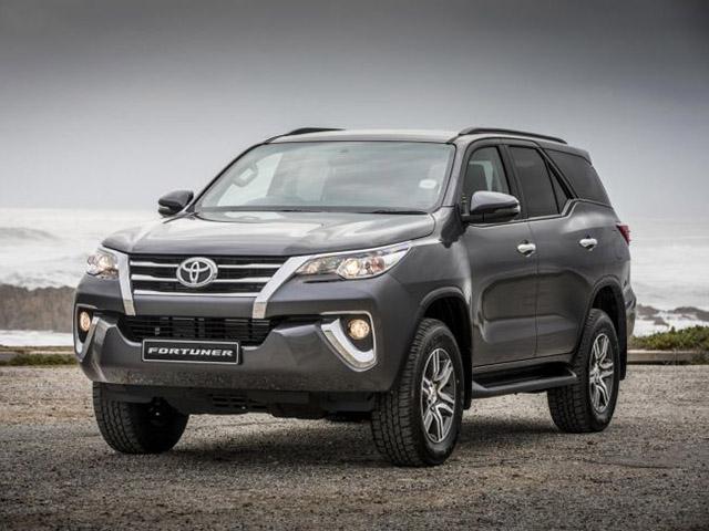 Bảng giá xe ôtô Toyota tại Việt Nam tháng 03/2018