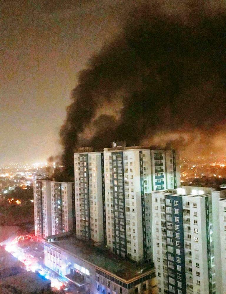 Chủ đầu tư chung cư Carina lên tiếng sau vụ cháy 13 người chết