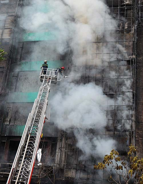 Rùng mình nhớ lại những vụ cháy khủng khiếp nhất trong lịch sử