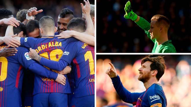 Barcelona nhắm chức vô địch hoàn hảo: Vật cản lớn Ronaldo - 1