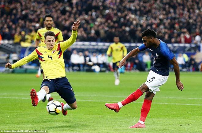 Pháp - Colombia: (Giao hữu 2018)