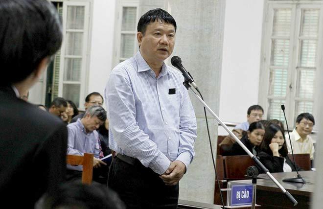 """Ông Đinh La Thăng: """"Bị cáo trở thành người con bất hiếu"""""""