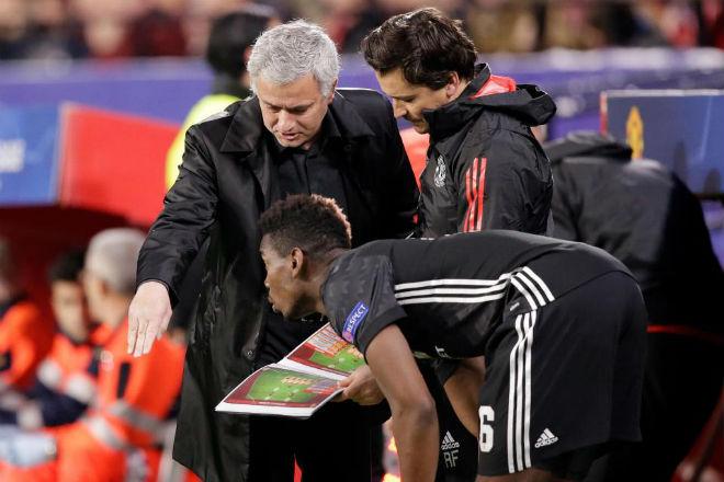 """Hé lộ cực sốc: Mourinho - Pogba từ mặt nhau, MU nguy cơ """"ong vỡ tổ"""" - 1"""