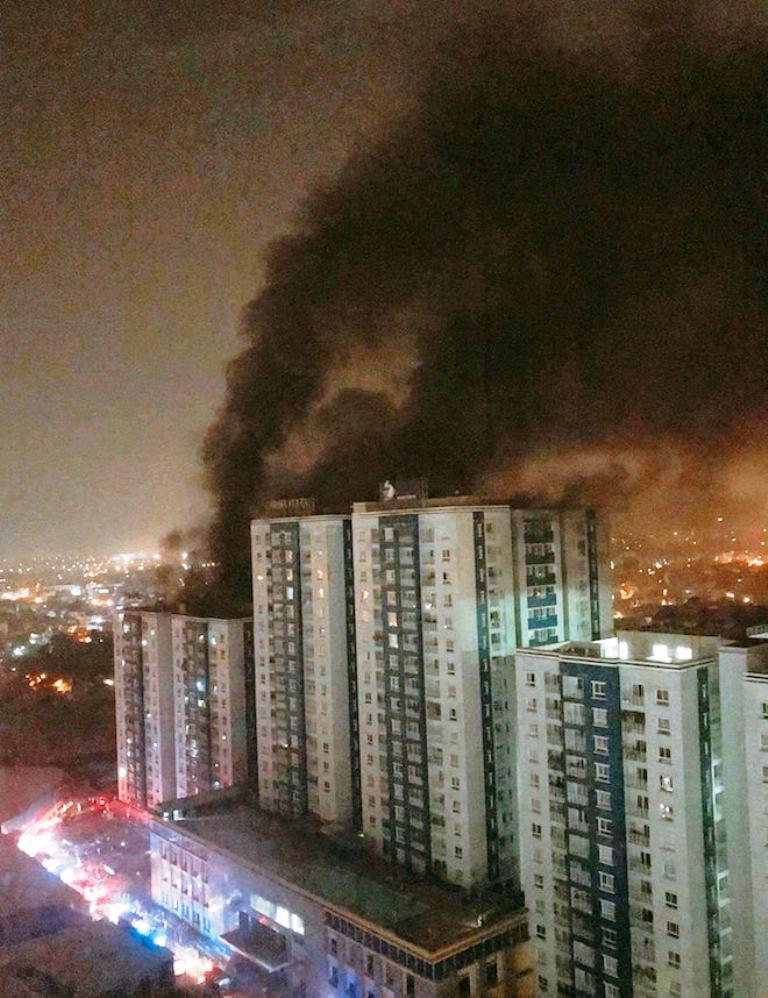 Khởi tố vụ cháy chung cư Carina làm 13 người tử vong