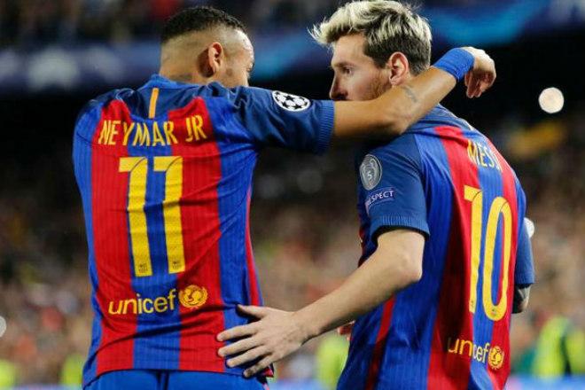 Bom tấn siêu khủng: Messi tái ngộ Neymar, rủ nhau về thành Manchester xưng bá - 2