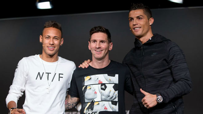 Neymar đắt nhất thế giới: Gần Ronaldo - Messi nhưng xa Bóng vàng - 2