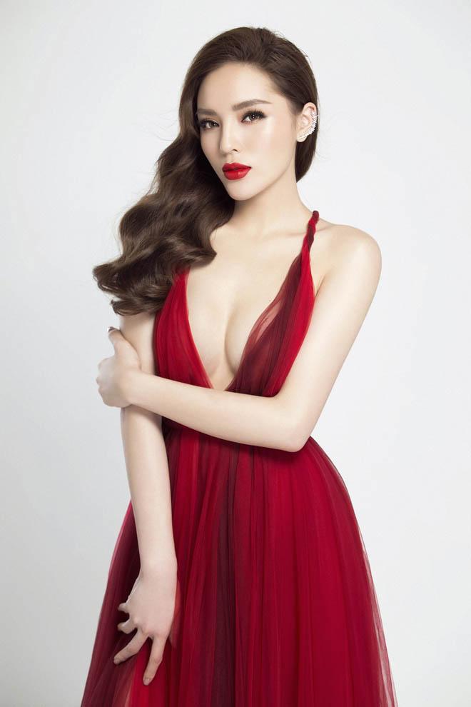 Hoa hậu Kỳ Duyên hút ánh nhìn với thân hình đầy đặn hơn trước - 9