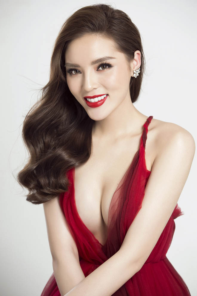 Hoa hậu Kỳ Duyên hút ánh nhìn với thân hình đầy đặn hơn trước - 8
