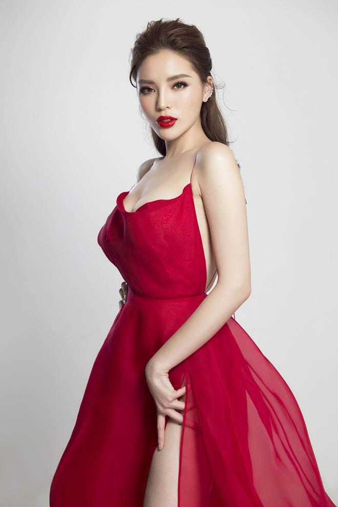 Hoa hậu Kỳ Duyên hút ánh nhìn với thân hình đầy đặn hơn trước - 6