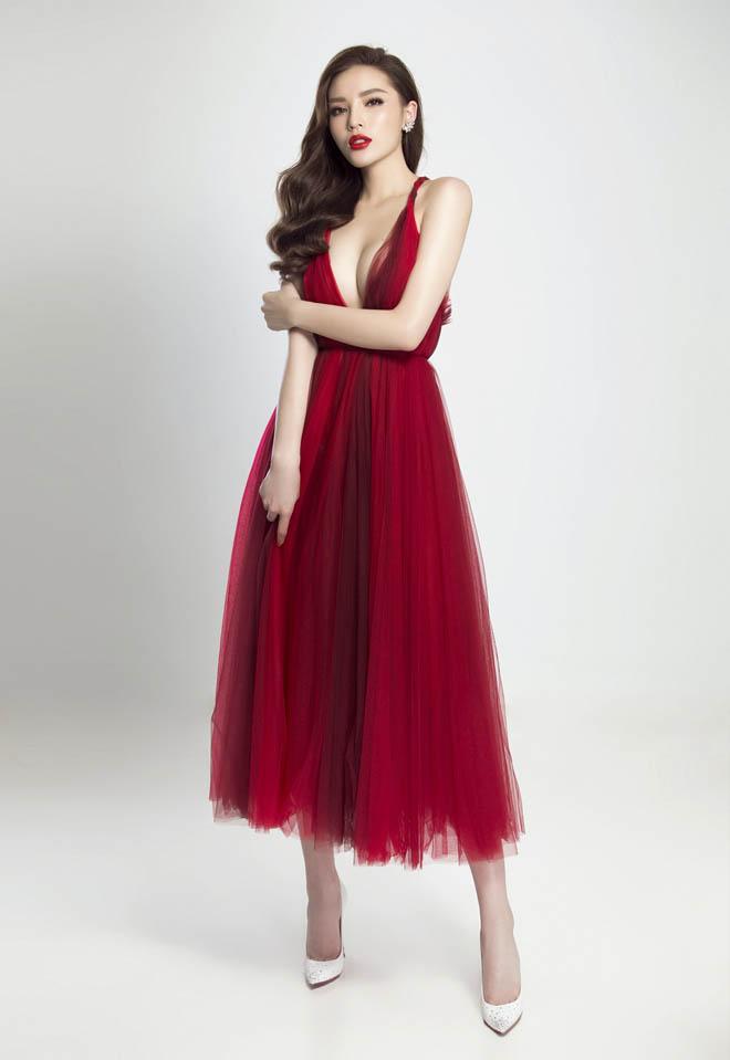 Hoa hậu Kỳ Duyên hút ánh nhìn với thân hình đầy đặn hơn trước - 10