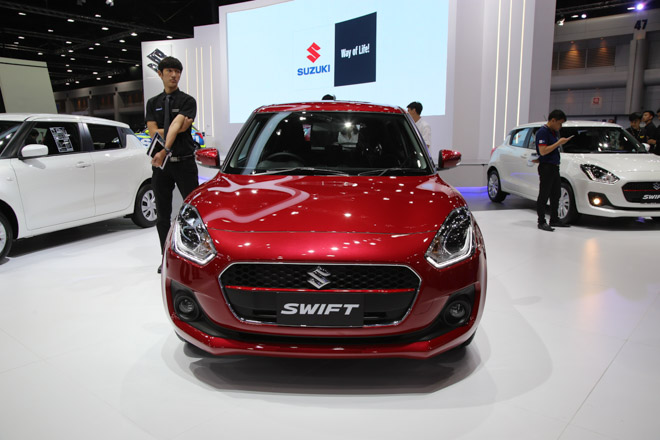 Suzuki Swift 2018 ra mắt, dự kiến về Việt Nam trong tháng 6 - 2