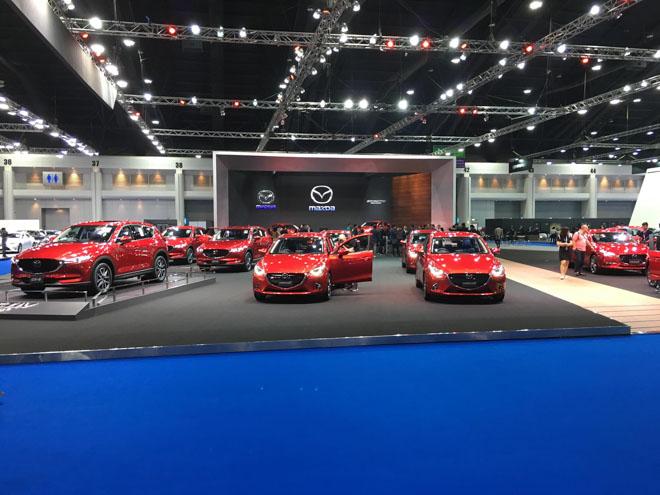 Công nghệ xe điện nắm chủ đạo tại Bangkok Motor Show - 1
