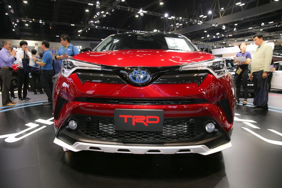 Toyota C-HR phiên bản TRD có giá 984 triệu đồng tại Thái Lan - 1
