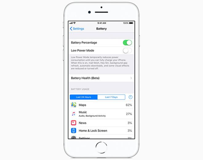 iOS 11.3 chính thức lên sóng cho phép điều chỉnh hiệu suất pin - 1