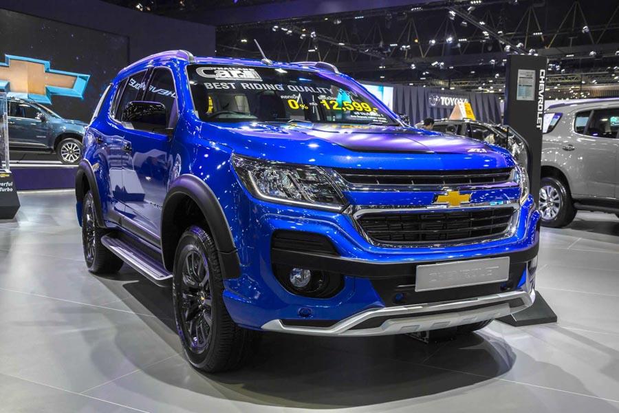 Đối thủ của Toyota Fortuner: Chevrolet Trailblazer LTZ có giá 1,09 tỷ đồng - 2
