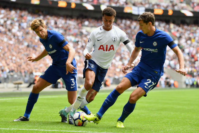 """Ngoại hạng Anh trước vòng 32: Chelsea đấu """"chung kết"""" Tottenham, MU tăng tốc - 1"""