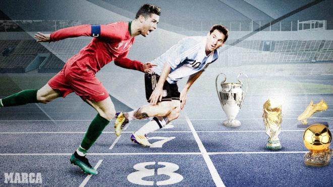 """Ronaldo, Messi & 3 tháng """"sinh tử chiến"""": Quả bóng Vàng thứ 6 về tay ai? - 1"""