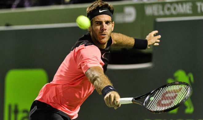 Del Potro - John Isner: Căng thẳng tie-break, bi kịch đến sớm (BK Miami Open) - 1