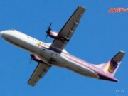 """Video An ninh - """"Hú hồn"""" máy bay trượt khỏi đường băng Tân Sơn Nhất"""