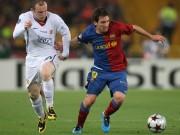 Bóng đá - Messi khen Rooney vĩ đại, yêu quý Ronaldo