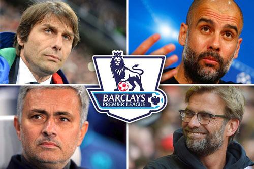"""""""Đại chiến"""" Ngoại hạng: Conte đấu Mourinho, Pep, Klopp - 1"""