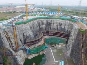 Thế giới - TQ: Đào sâu 80m xây khách sạn 10.000 tỉ