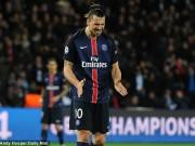 """Bóng đá - Ibrahimovic bỗng hóa """"chân gỗ"""" khiến PSG ôm hận"""