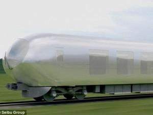"""Thế giới - Nhật chế tạo tàu hỏa """"tàng hình"""" đầu tiên trên thế giới"""