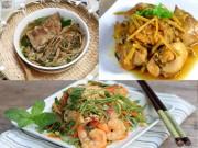 Ẩm thực - Thực đơn hoàn hảo cho bữa cơm cuối tuần