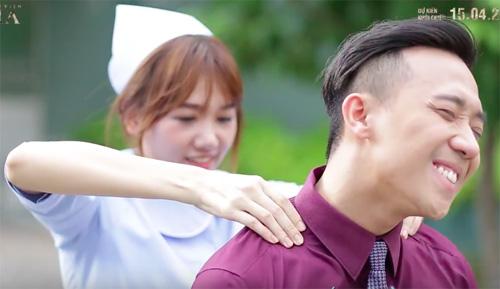 Clip tiết lộ loạt hình thân mật của Trấn Thành - Hari Won - 3
