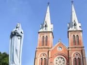 Tin tức trong ngày - Nhà thờ cổ Sài Gòn: Phục hồi vẻ đẹp nguyên sơ nhà thờ Đức Bà