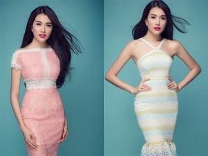 Thời trang - Á hậu Lệ Hằng nồng nàn, quyến rũ với gam màu pastel
