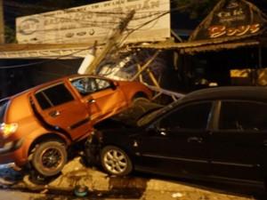 Tai nạn giao thông - Ô tô húc nhau, một người đi xe máy thiệt mạng