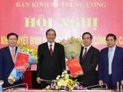 Tài chính - Bất động sản - Nguyên Thống đốc Nguyễn Văn Bình làm Trưởng Ban Kinh tế